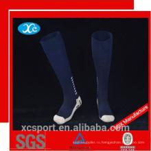 Пользовательские противоскользящие мужские футбольные носки