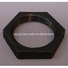 """Accesorios de tubería de hierro maleable 1-1 / 2 """"Black Locknut"""