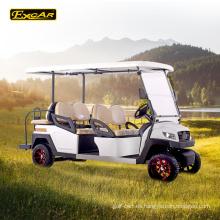 Batería troyana de 6 plazas con carrito de golf eléctrico Italia con eje de golf con errores coche para la venta