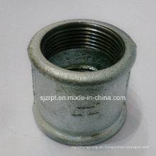"""Acoplamiento galvanizado de 1-1 / 4 """"Acoplamiento de tubo de hierro maleable"""