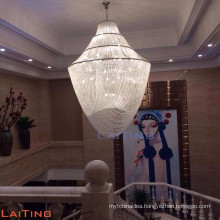 Hotel extra large crystal chandelier customizable