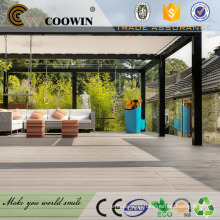 wpc feelings garden decoration wood villa teak house synthetic composite decking wood plastic flooring