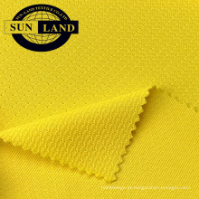 Tela de malha impermeável da malha do poliéster 100% para o vestuário exterior