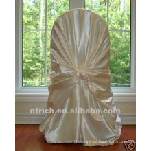 binden Sie Stuhl zurück Abdeckung, CT450 satin Stuhlabdeckung, universelle Stuhlabdeckung