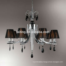 Polished Chrome Antique Art Deco Chandelier for Hallway