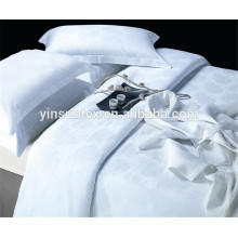for hotel queen size cotton bed sheet