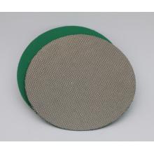Disque de ponçage de pierre lapidaire en céramique de verre de diamant flexible