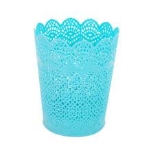 Доступны четыре цвета Пластмассовая полая открытая корзина для мусора (B01-8086)