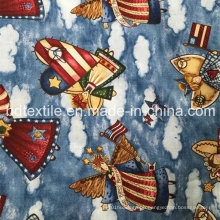 Latest Design Attractive Navidad Miniature Christmas Prints Fabric