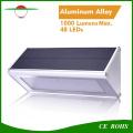 New Radar Sensor Solar Light 48LED Aluminium Alloy IP65 Outdoor Wall Mounted Light High Brightness Street Lamp Solar Security Night Light