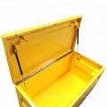 Водонепроницаемый сверхмощный стальной ящик для инструментов грузовика Jobsite Водонепроницаемый сверхмощный стальной ящик для инструментов грузовика Jobsite