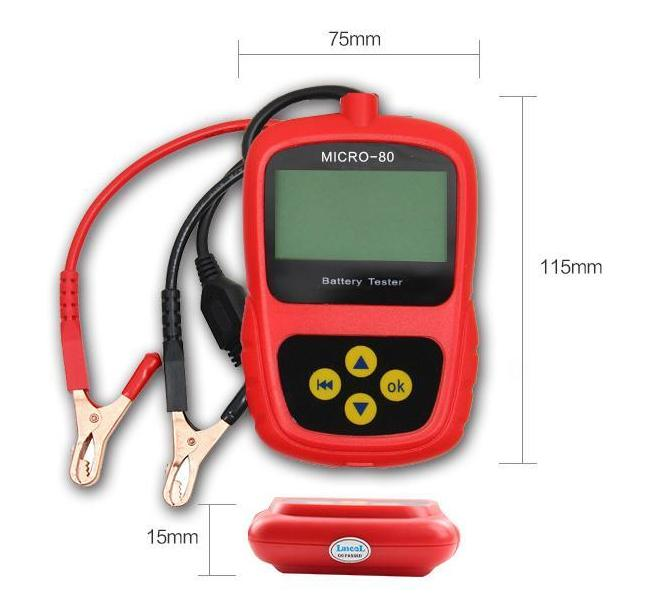 battery tester size