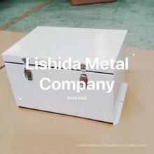 gran caja de almacenamiento de aleación de aluminio impermeable personalizado caja de almacenamiento de aleación de aluminio impermeable grande personalizado