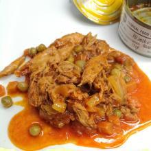 Thunfischsalat im Beutel mit Gemüse