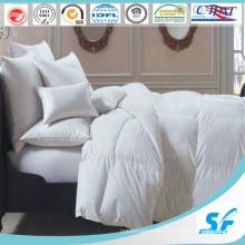 Luxuriöses 5-Sterne-Hotel / Zuhause Weiße Gänsedaunenfüllung leichtere Bettdecke
