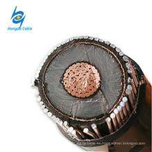 Cable eléctrico de 12/20 kv de un solo núcleo Cable de alimentación XLPE de 1x240