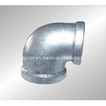 "3/4*1/2"" Banded Malleable Iron Pipe Fittings Reducing Galvanized Elbow"