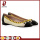 black comfortable flat women shoes wholesale