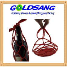2016 Creative Product Silicone Collapsible Wine Web Bags