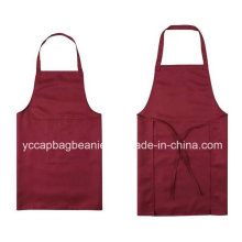 High Qualtiy Polyester Cotton Blank Cooking Apron