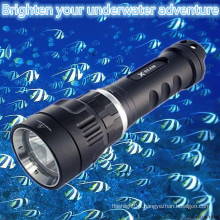 Best selling Portable Magnetic Switch Rechargeable Aluminum waterproof mini cree led scuba diving torches