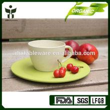Taza de cofre de fibra de bambú