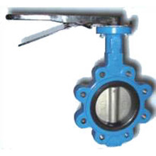 Lug Type Soft Seated Butterfly Valve (without pin)