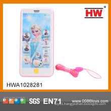 Electric Plastic English Touch Screen Phone Toy With Music(Battery Not Included)