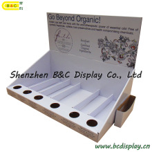 Essential Oil Display Stand, Cosmetic Paper PDQ Display Box (B&C-D043)