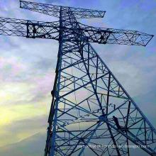 750kV Transmissão de Energia de Transmissão Steel Tower