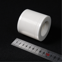 Threaded Yttria Stabilized Zirconium Oxide Ceramic Bushing