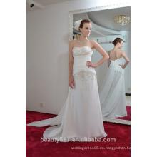 EN STOCK Vestido de seda verdadero SE83 del vestido de partido de las mujeres del vestido del partido