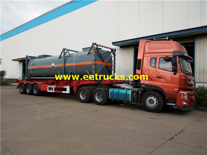 30000L 30feet Sodium Hypochlorite Tanker Containers