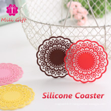 Promotion Festival Cadeau Silicone Coaster Coffee Cup Mat Pad China Supply