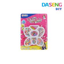 Girls Princess Colorful plastic Necklace and Bracelet Set