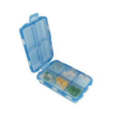 New Fashion Design for Pill Box Folding Pill Organizer Box 10 Compartments supply to Mauritius Wholesale