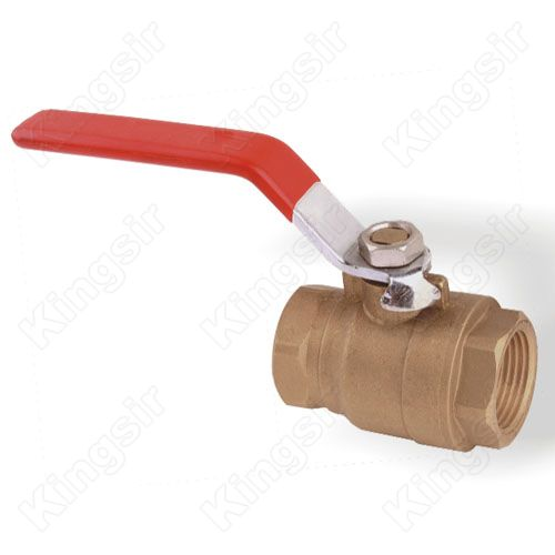 Lead Free Ball Valve,Brass, Two-Piece, Full Port, with Drain