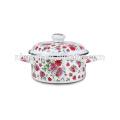 Enamel casserole enamel cookware flower pot dutch oven  Enamel casserole enamel cookware flower pot dutch oven