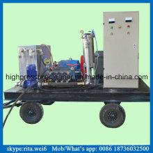 Blaster de jet d'eau de nettoyage industriel de tuyau de rondelle à haute pression