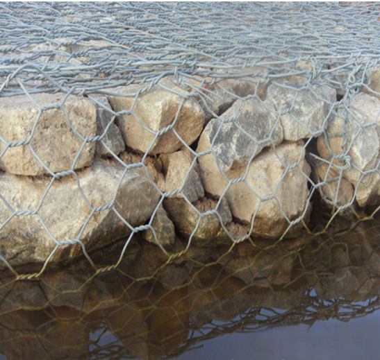 Galvanized Hexagonal Wire Mesh Weaving Gabion Box