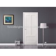 Puerta de la casa interior de diseño moderno, puertas de madera maciza