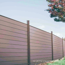 Recycled Material Eco-Friendly Composite Fence Outdoor Garden WPC Fencing Trellis