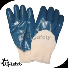 SRSAFETY new product nitrile coated working glove nitrile working glove manufacturers