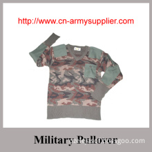 Wholesale Cheap Camouflage Military Pullover