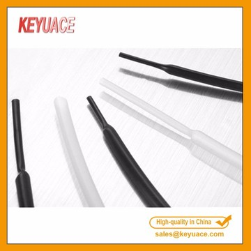 Transparan PVDF Kynar Medical Grade Heat Shrink Tubing