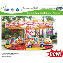 Merry-Go-Round Flying Dragons Electric Toy Dragons Modeling Electric Equipment Children Play Park (HD-10601)