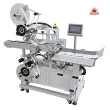 Película de tela guarda automática máquina de etiquetas de estratificação
