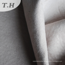 Knitted Polyester Fabric for Furniture in White Color