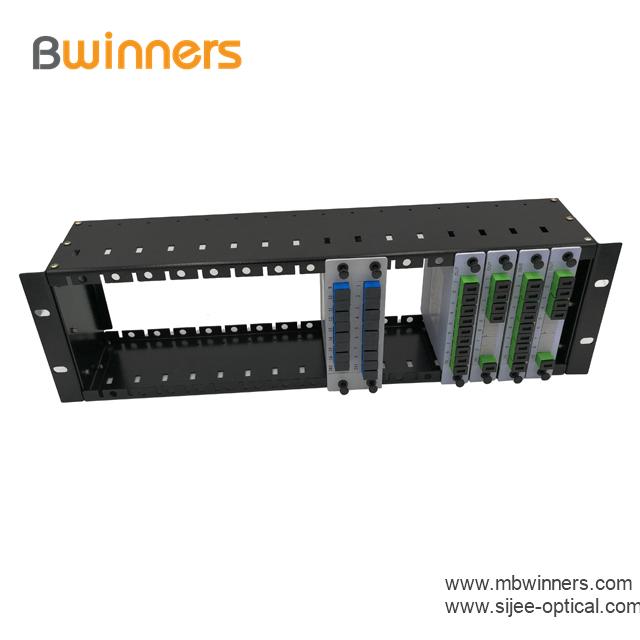 Insertion Type Rack Mount Plc Splitter