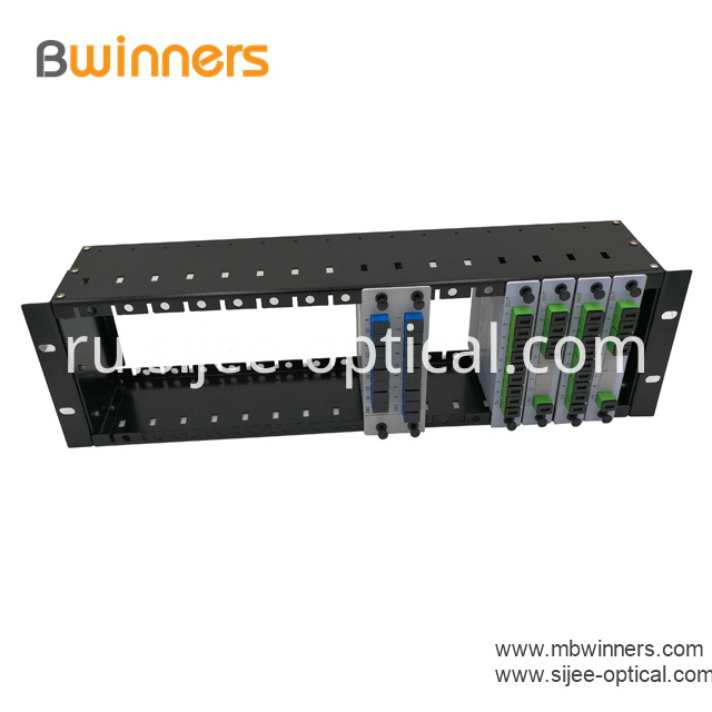 Insertion Type Rack Mount Plc Splitter